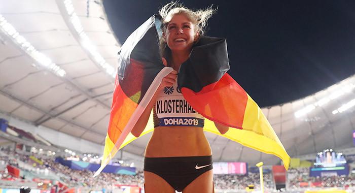 Bronze! Konstanze Klosterhalfen gewinnt erste deutsche 5.000-Meter-Medaille