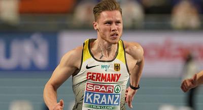 Kevin Kranz gewinnt dritte Medaille des Tages für deutsches Team - Leichtathletik