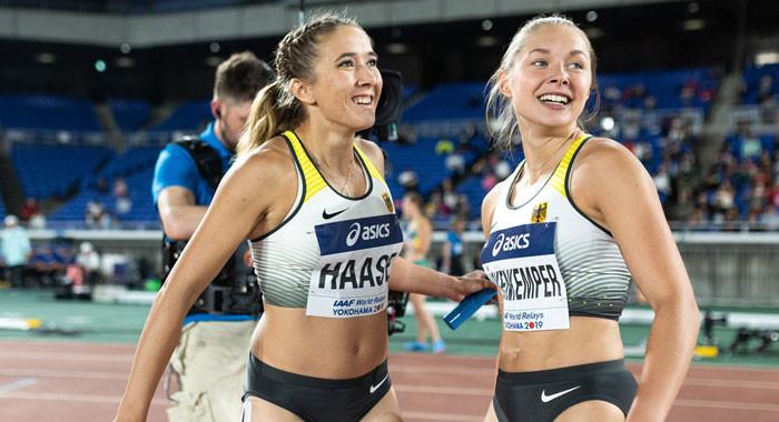Ass gina lückenkemper Female sprinters