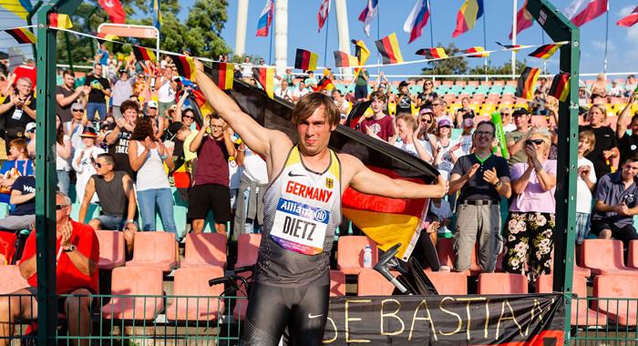 Großer Hahn-Weltrekord