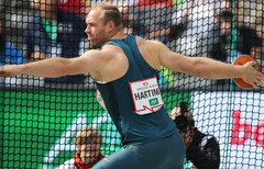 Robert Harting plant Start beim ISTAF