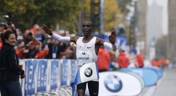 Favoritensieg für Eliud Kipchoge