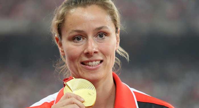 Katharina Molitor Speerwurf Stand Immer An Erster Stelle Das