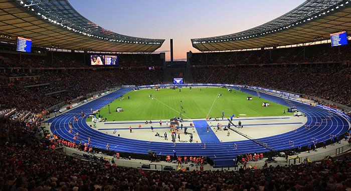 Berliner Olympiastadion Zuschauer