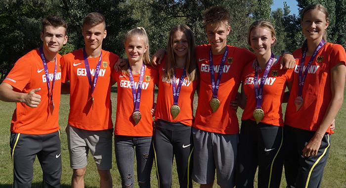 crazy price available good looking Deutsches U18-Team erobert Platz eins der Nationenwertung ...