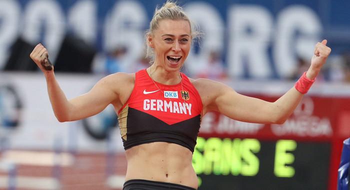 4 70 Meter Lisa Ryzih Sichert Sich Silber Leichtathletik De